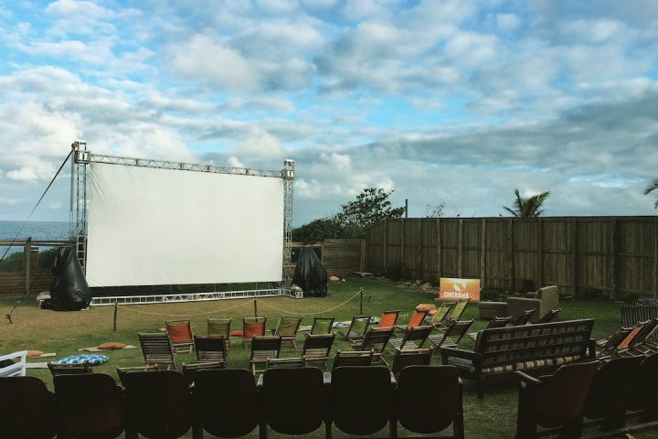 Cinema na Praia 1 Redux